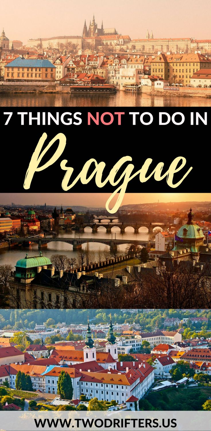 Beautiful Prague has plenty of great things to do. These 7 aren't on that list. Learn what things not to do in Prague, Czech Republic, & what to do instead! | Tips for #Europe #Prague | Europe travel guide