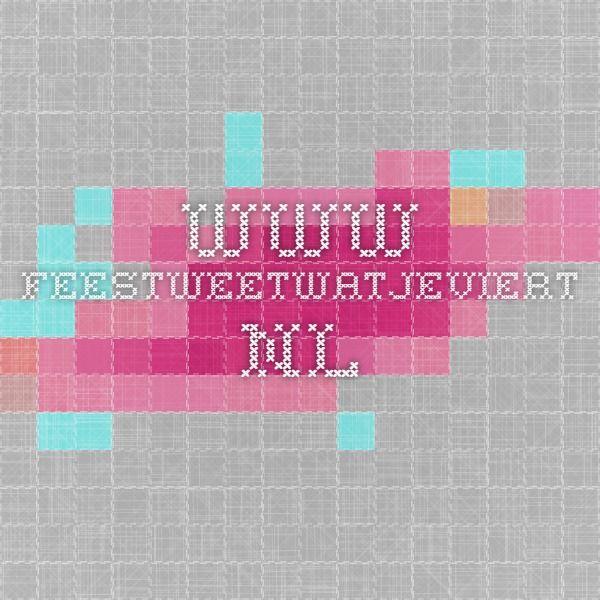 www.feestweetwatjeviert.nl