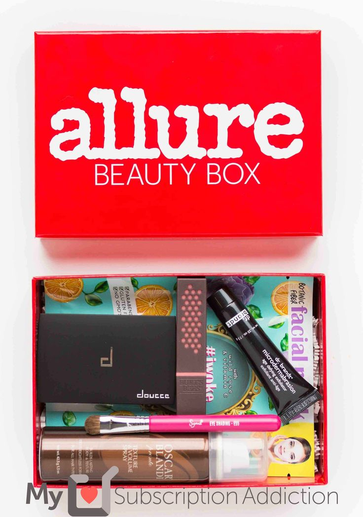 We have a shipping update on the January 2017 Allure Beauty Box + save $5 off your first box!