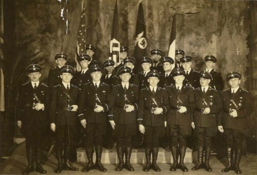 The German American Bund's Special Guard, their version of the SS.