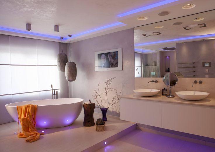 39 best Lichtkonzepte für Ihr Bad Da strahlt nicht nur das - Tv Für Badezimmer