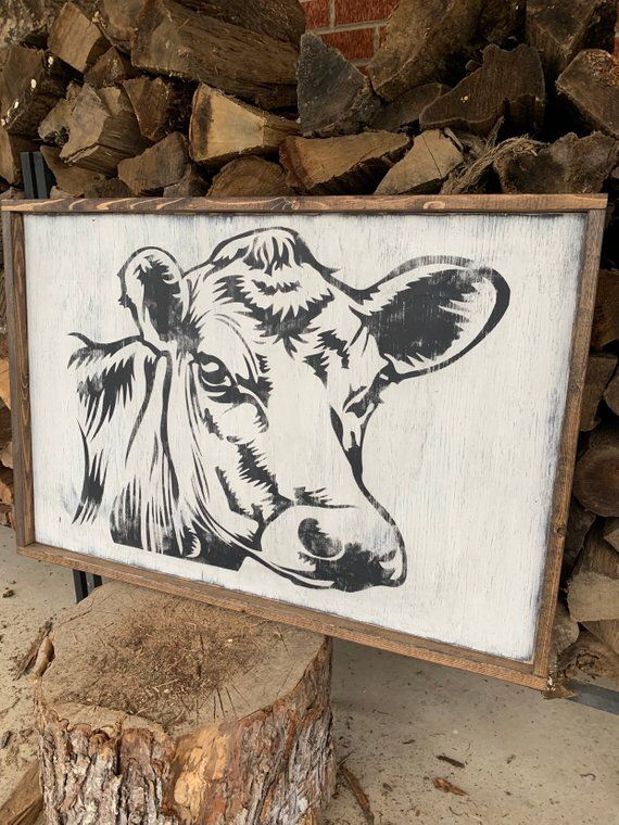 Pin By Treasuredkeepsake4 U On Custom Cow House White Cow Farmhouse Style