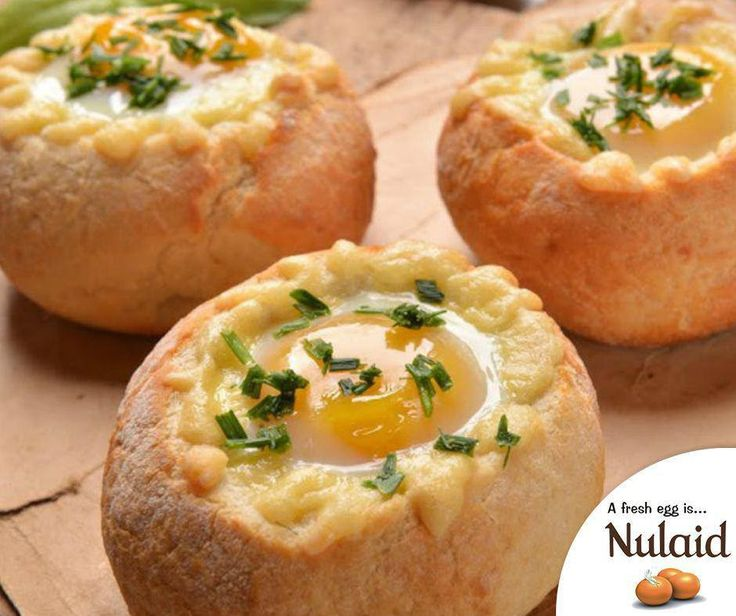 These adorable baked eggs are a budget-friendly way to dress up your breakfast table. For the full recipe, click here: http://ablog.link/4h8. #Nulaid