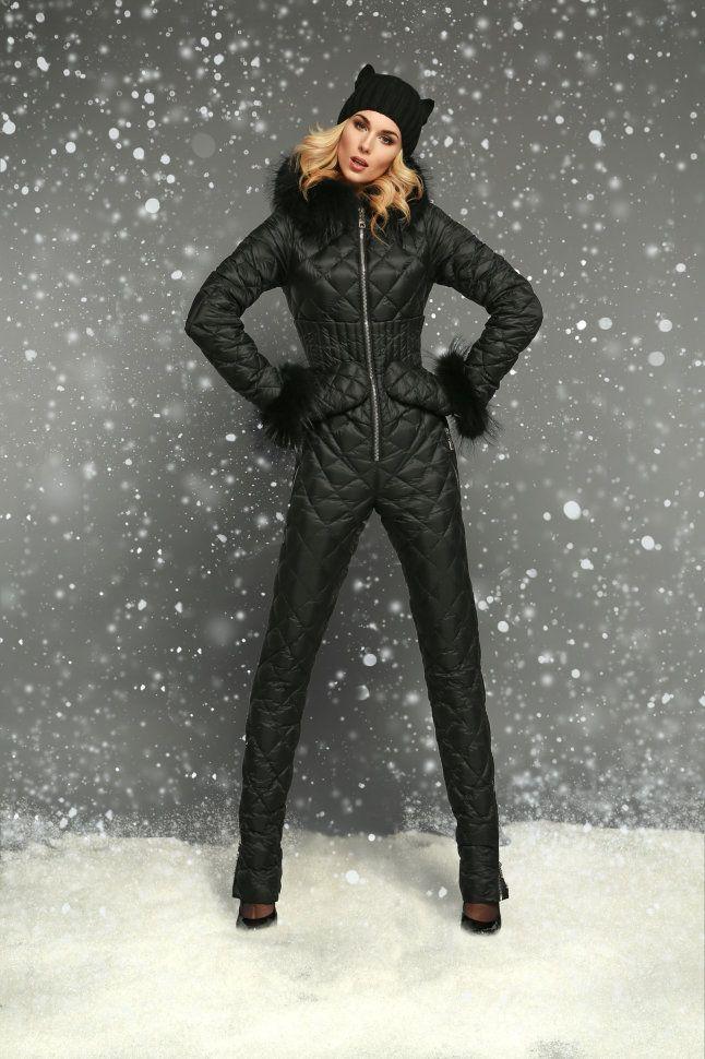 комбинезон женский фото зимний