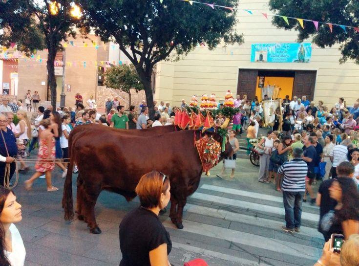 Parade in Villasimius