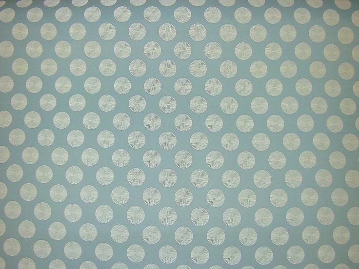 Clarke Amp Clarke Solar Duck Egg Blue Curtain Upholstery