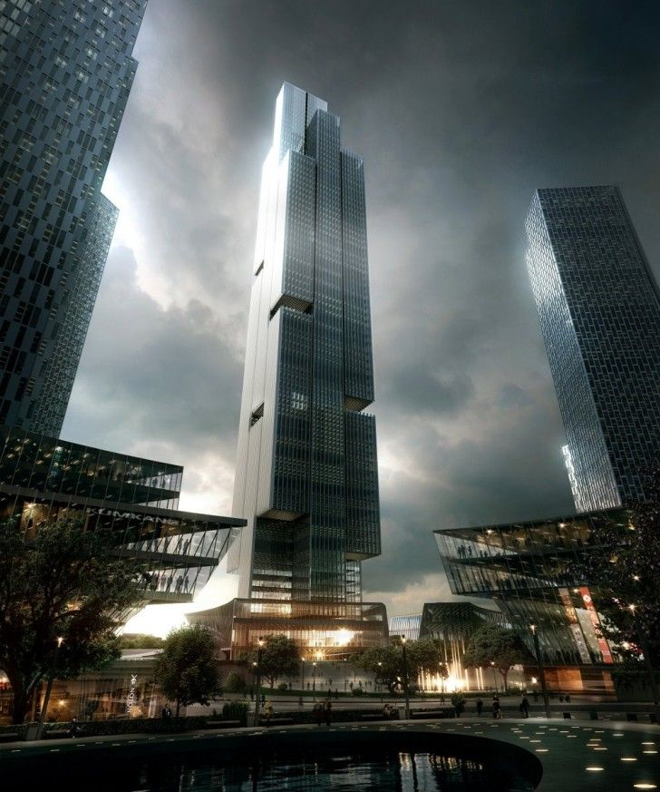 33 best cgi evening and night images on pinterest - 3d architectural visualization ...