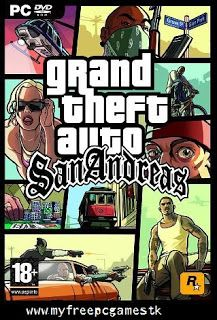 GTA SAN ANDREAS FREE DOWNLOAD       Grand theft Auto: San Andreas :  Grand Theft Auto: San Andreas  is a Rockstar North-developed video ga...