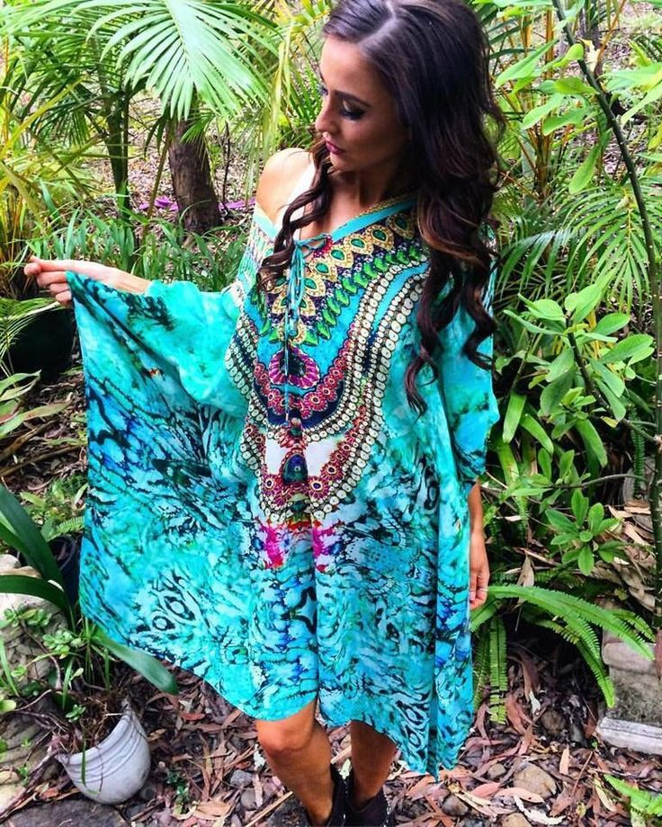 A personal favourite from my Etsy shop https://www.etsy.com/au/listing/453665604/aqua-mists-kaftan