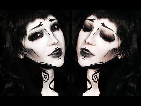 Tim Burton-Inspired Makeup Tutorials - Neatorama