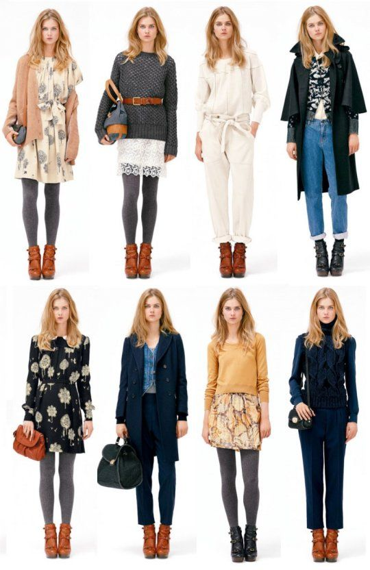 winter layers / camel ankle boots / grey tights