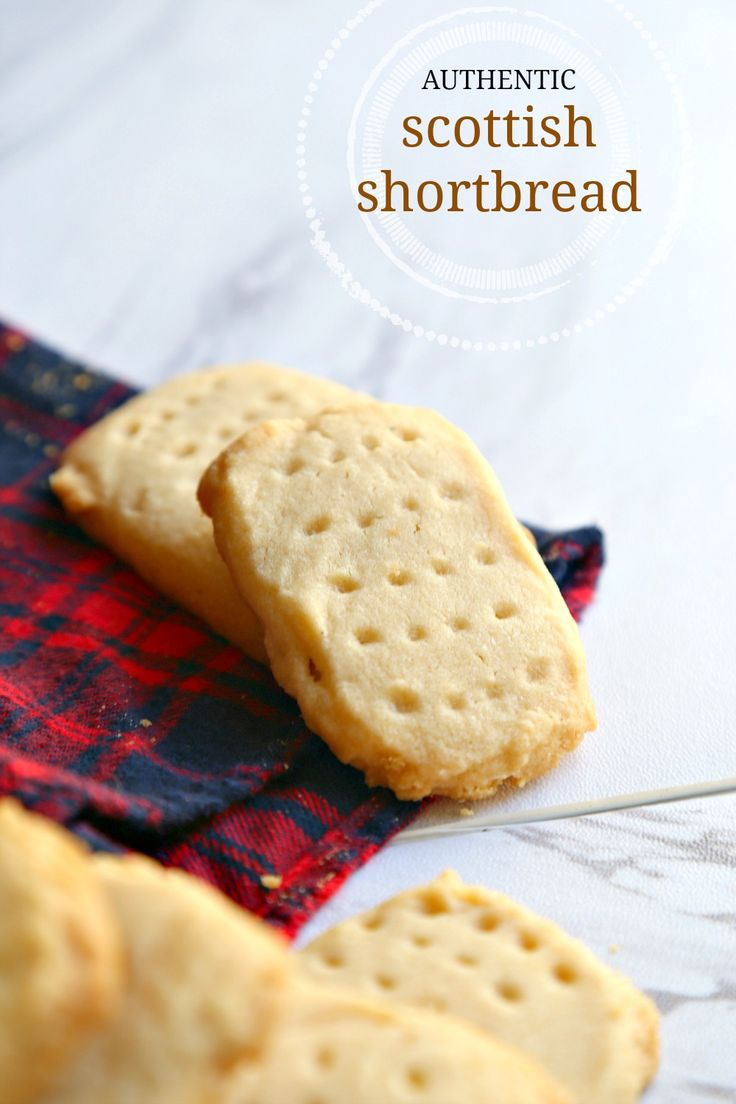 These authentic Scottish shortbread cookies taste just like the ones we ate in Scotland! Buttery, crumbly, and melt-in-your-mouth good. Only 4 ingredients!