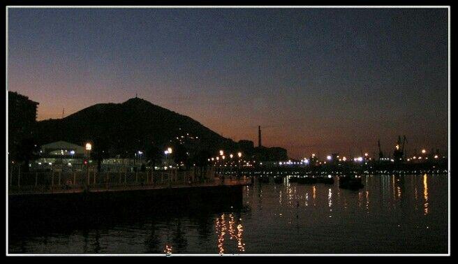 Santurtzi de noche