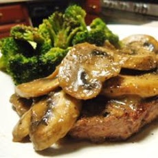 Mushroom Round Steak Recipe, I can finally use all the round steak in the freezer!
