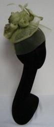 Classy Green Fascinator Hat