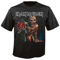 Tricou Iron Maiden: The Book of Souls Europe Tour 2016