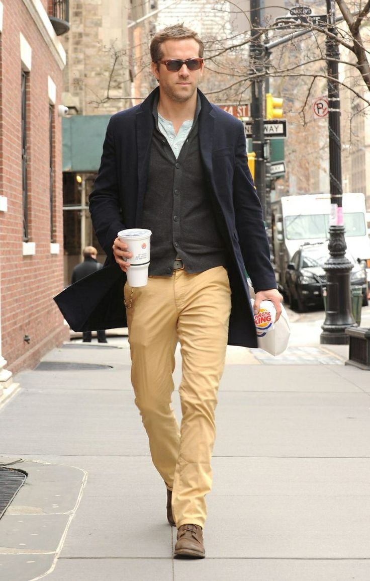 ryan reynolds casual style - Google Search