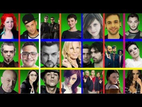 Sanremo 2016 Cantanti Big in Gara - Jukebox Canzoni
