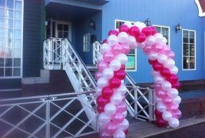 Ballonboog voor een bruiloft bij Inntel Hotel in Zaandam