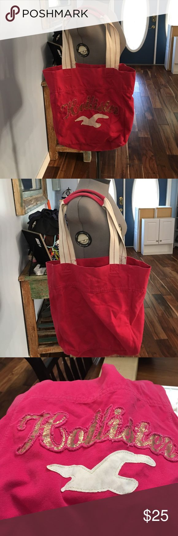 Hollister tote bag Great condition Hollister Bags Totes