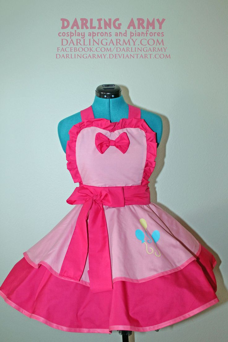 Pinkie Pie -MLP- Cosplay Pinafore by DarlingArmy.deviantart.com on @deviantART