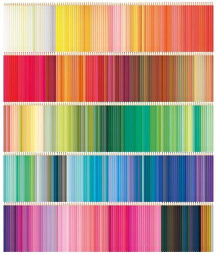 social designers think like essie ... 500 colourful pencils.