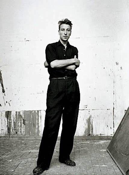 Nicolas de Staël, 1954. Photo Denise Colomb