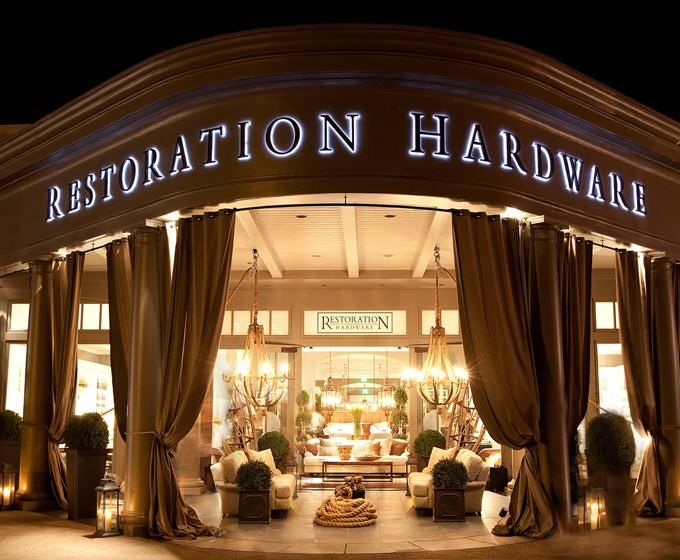 My most favorite home store ever. Its new each time I visit! - Restoration Hardware