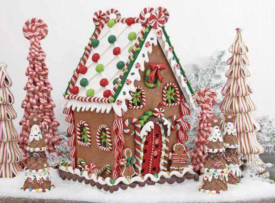 Trendy Tree Gingerbread House