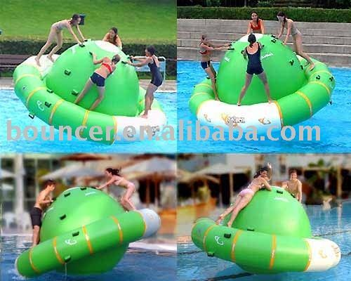Spinning Water Toy summer toys inflatable water toys rotating top