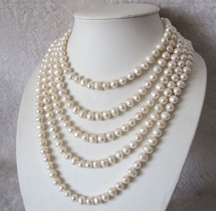 how to wear opera length pearls