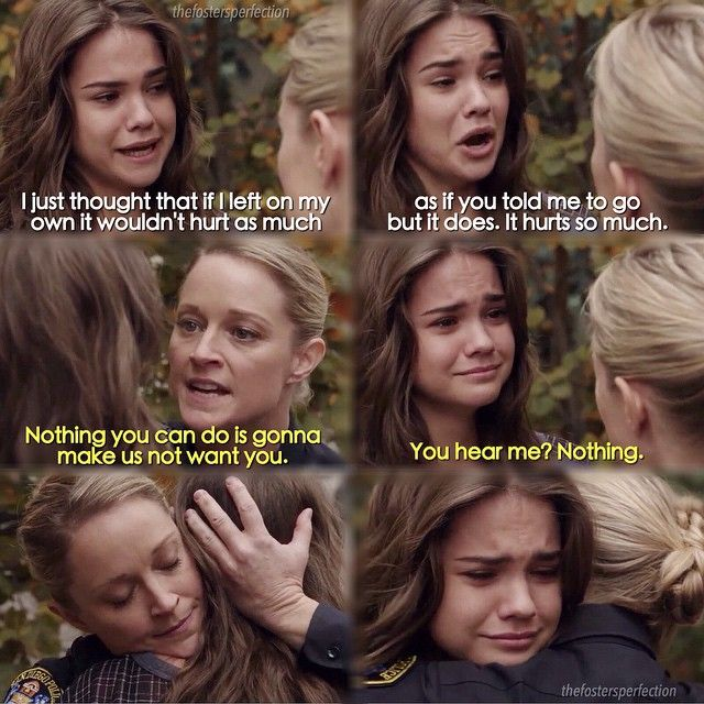 The fosters 2x18 - I cried so hard at this part!!!