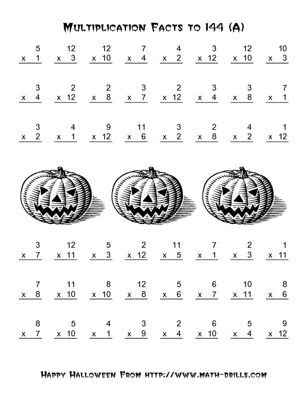 halloween math printables first grade