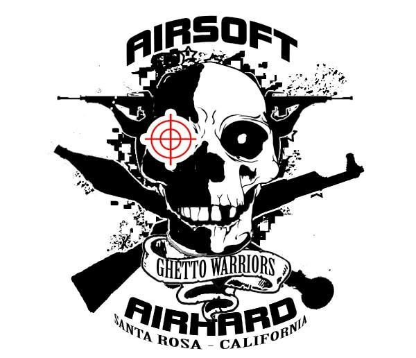 This is an example of a very modern airsoft logo which