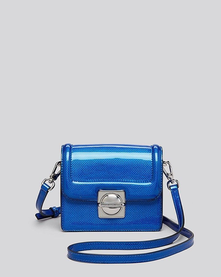 MARC BY MARC JACOBS Crossbody - Top Schooly Reflector Jax  #crossbody #marc #marcjacobs #Blue #leather #bloomingdales