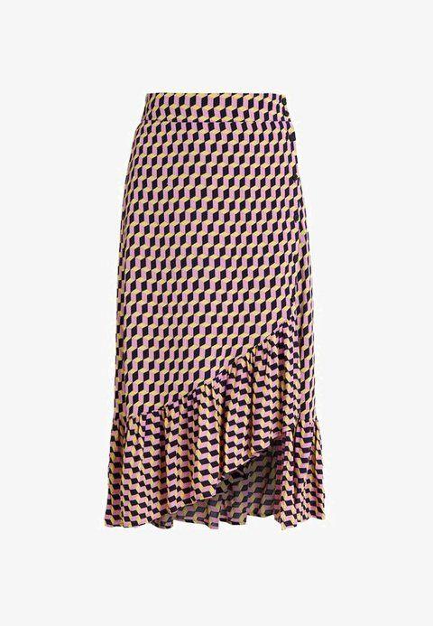 5506a56fc7d4 SILVA - Omslagsskjørt - violet stairs | Skirts | Pinterest | Skirts ...