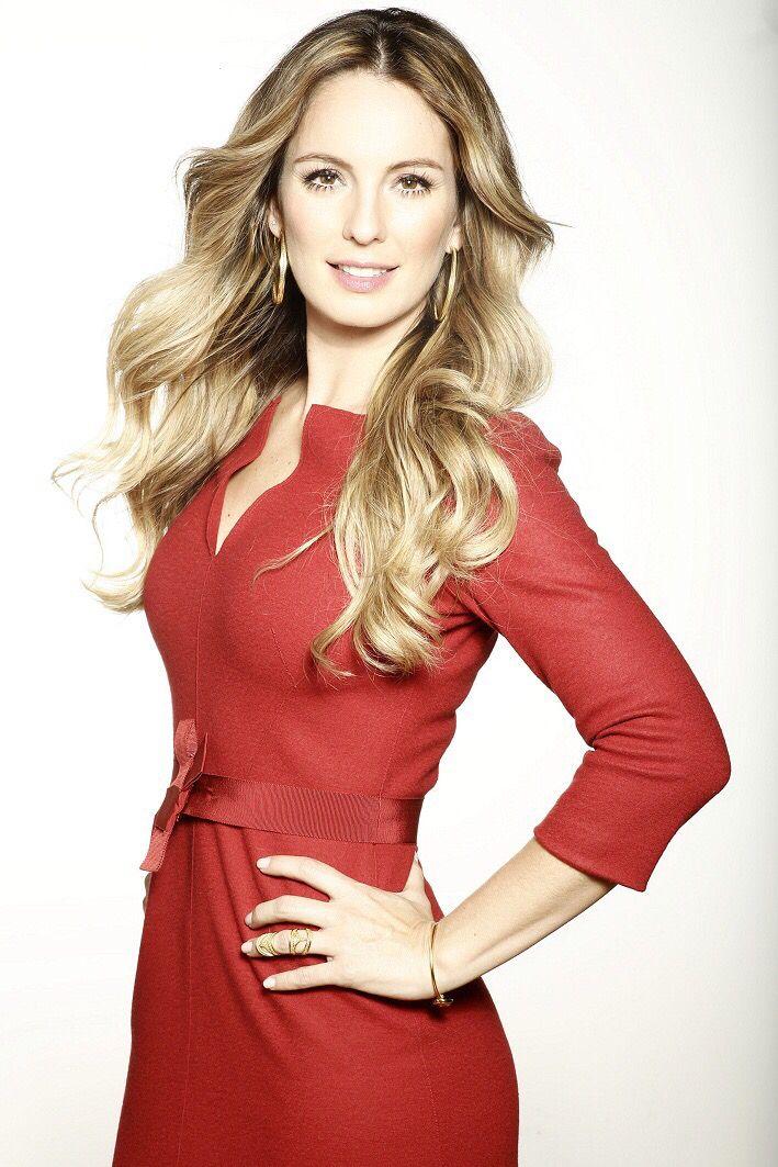 Claudia bahamon, tremenda belleza colombiana