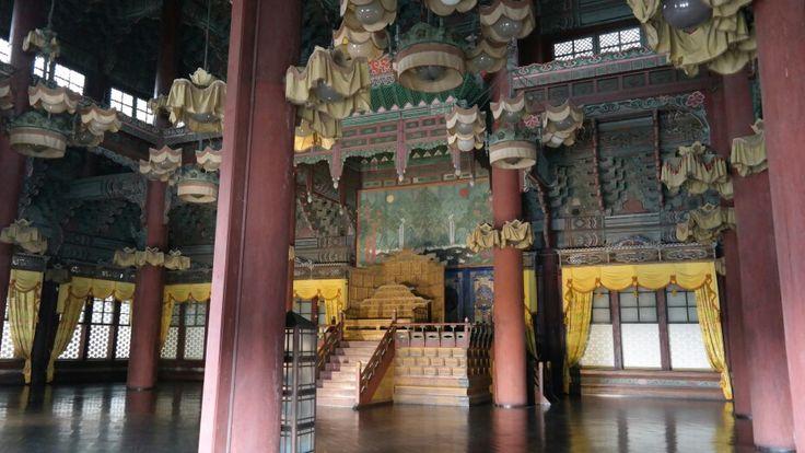 ChangdeokgungPalace-Injeongjeon ,Throne Hall