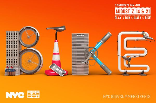 Summer Streets NYC by Chris LaBrooy, via Behance
