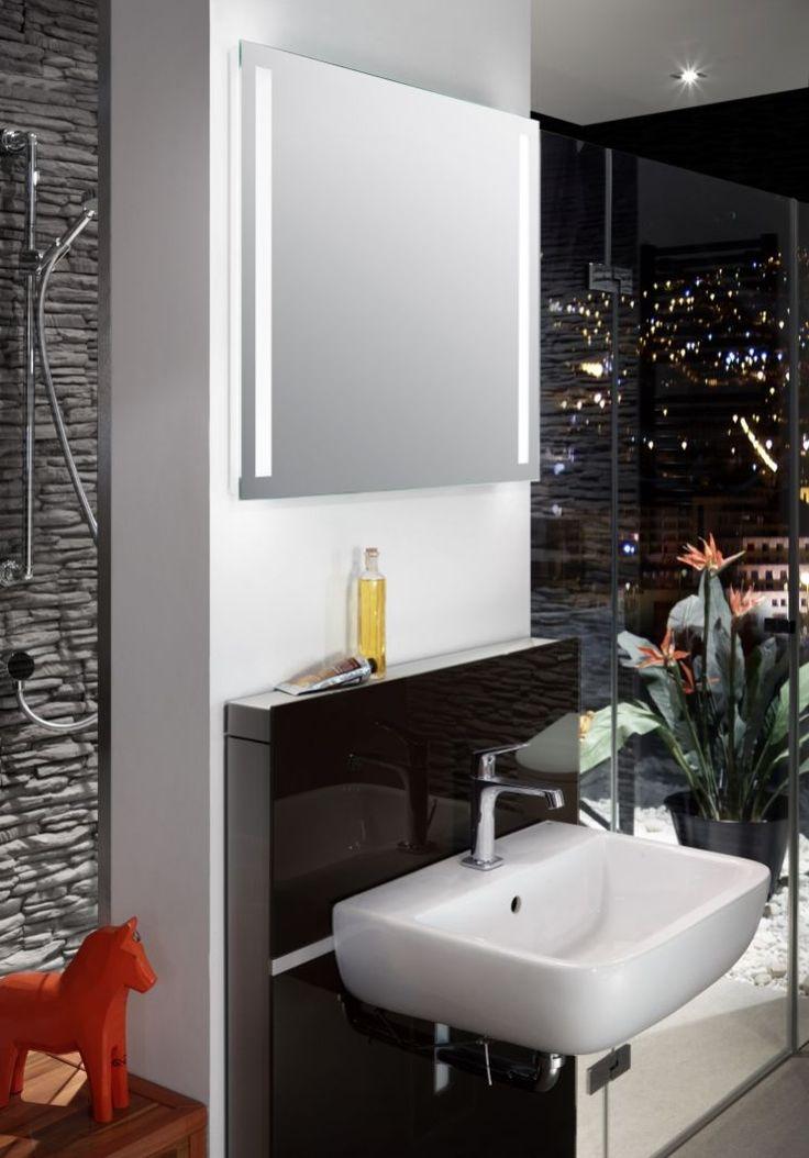 Trend LED Spiegel mit vertikalen Lichtb ndern