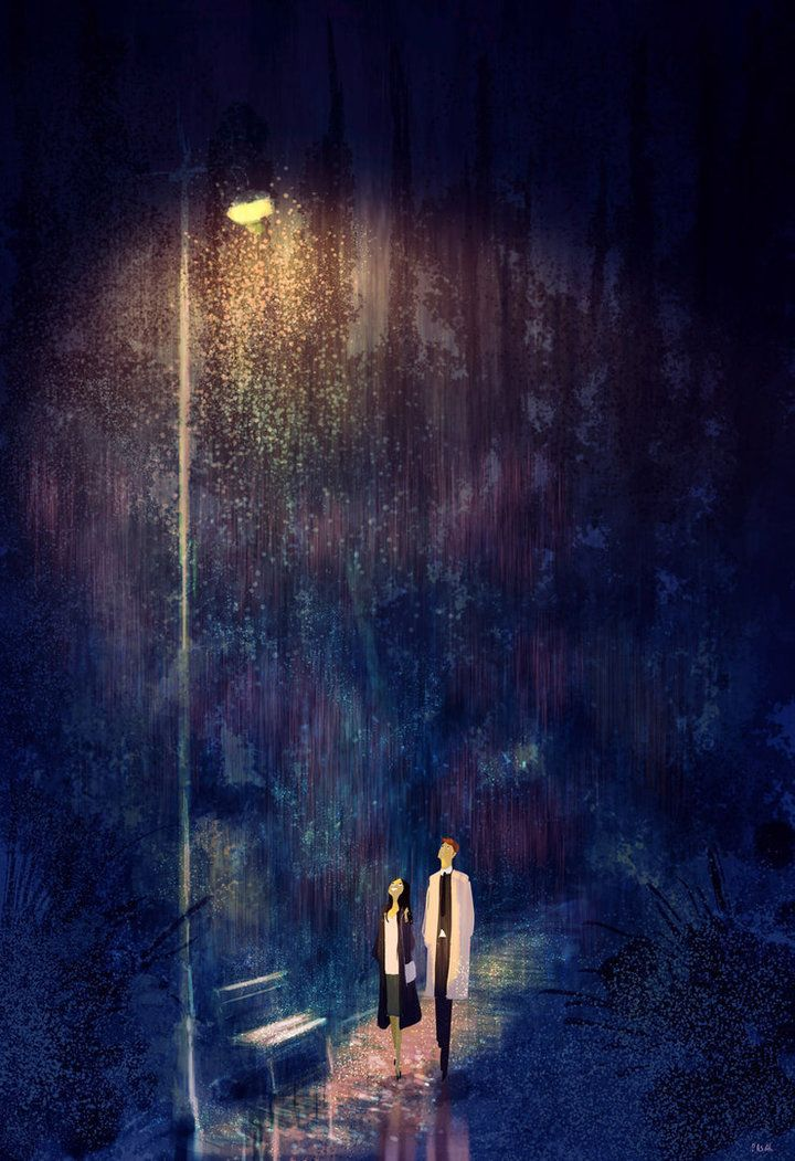 Pascal Campion Art Husband's Illustrations Beautifully Capture The Cozy Feeling Of Love | HuffPost