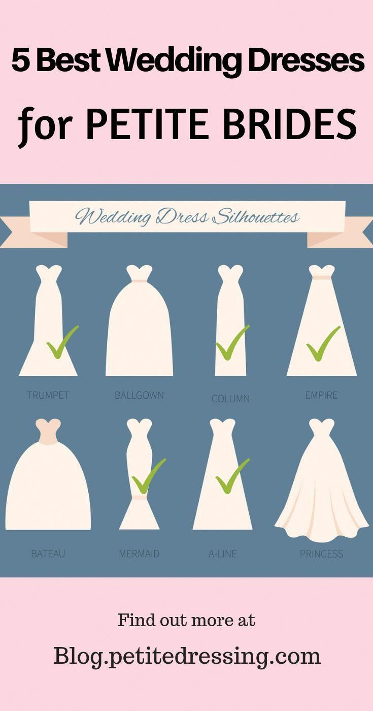 Find Out The Best Wedding Dresses For Petite Brides Under 5 4 Understand What Works And Doesn T Work On A Shor Petite Wedding Dress Petite Bride Short Bride [ 1400 x 735 Pixel ]