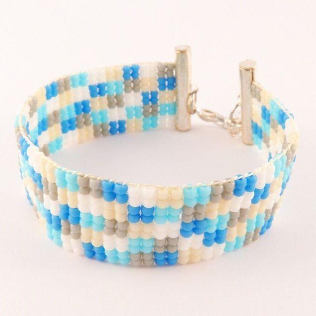 #beading #bracelet #bransoletka #beadedbracelet #mobihandmade #toho