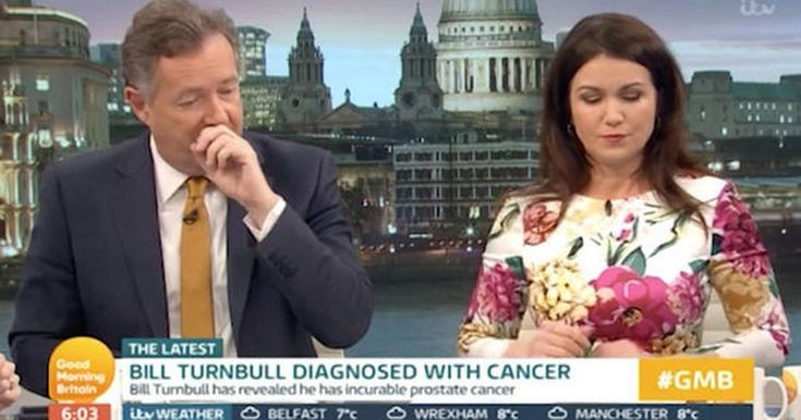 Piers Morgan reveals prostate cancer scare as TV stars praise Bill Turnbull