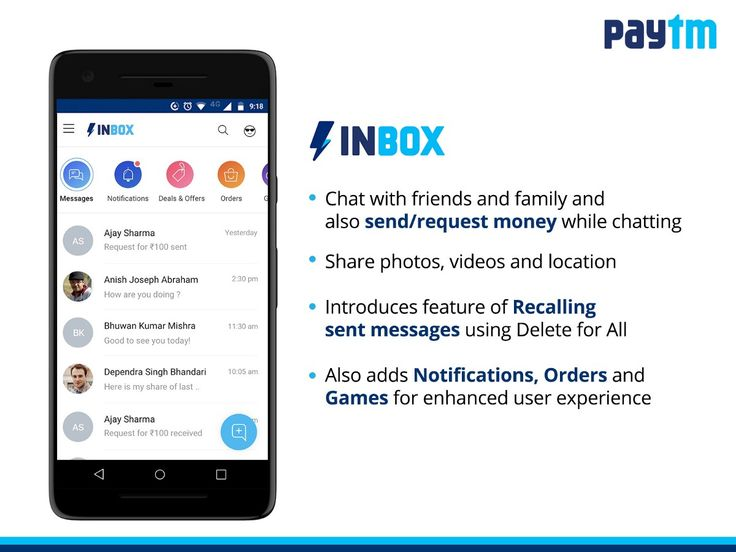 Paytm India's Largest Mobile Wallet App Is Getting Messaging Feature
