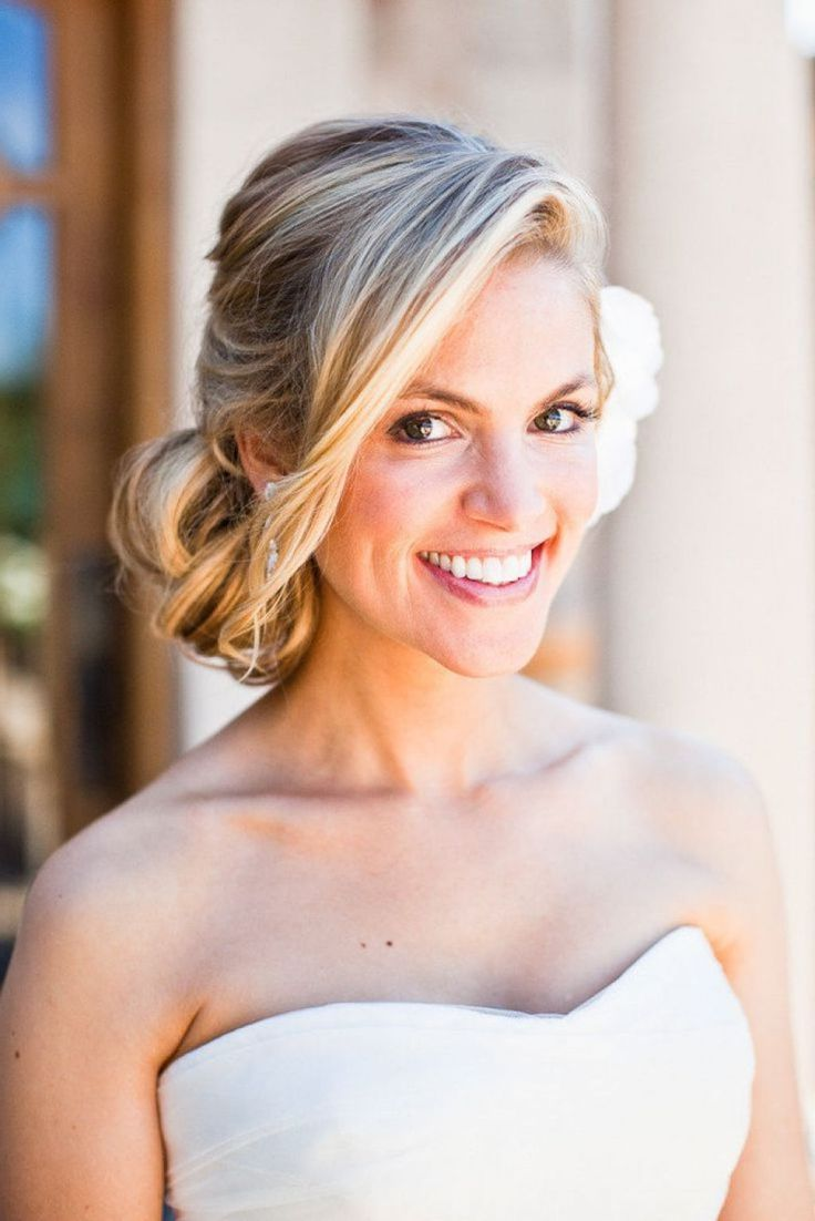 Elegant side hairstyles - Easy Do With Elegant Look Of Side Bun Hairstyle Simple Hairstyle Ideas For Women And
