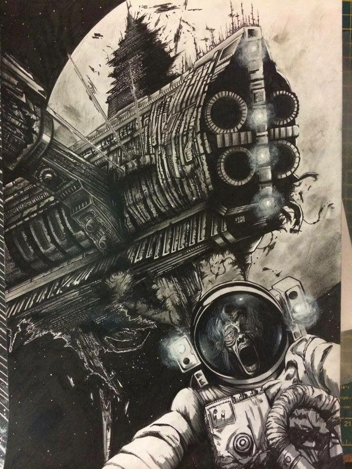Space Drawing - Commission http://www.peopleperhour.com/freelancer/gregg/freelance-illustrator-comic-artis/1142246