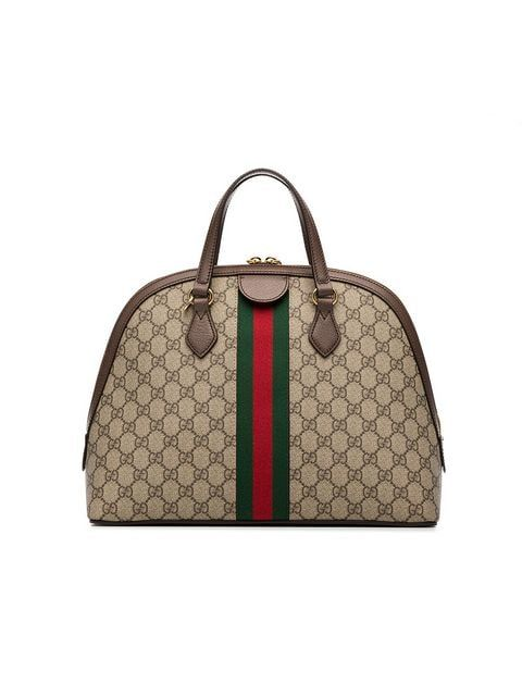 f2cb7c2d893 Gucci Ophidia GG Supreme Dome Top Handle Bag - Farfetch ...