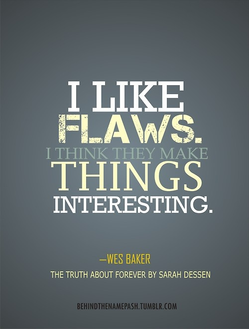 """The Truth About Forever"" by Sarah Dessen... one of my favorite books! :D"