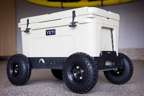 Badger Wheels™ – Need something like this for our Yeti's. They are so heavy!!